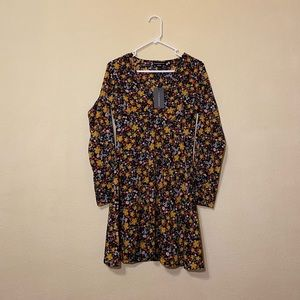 NWT floral hippie dress